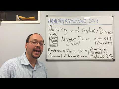 Is Juicing Dangerous For Kidney Disease?